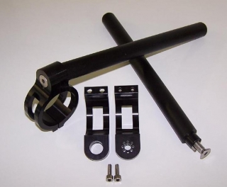 "Apex Clip-Ons Set with 7/8"" Bar"