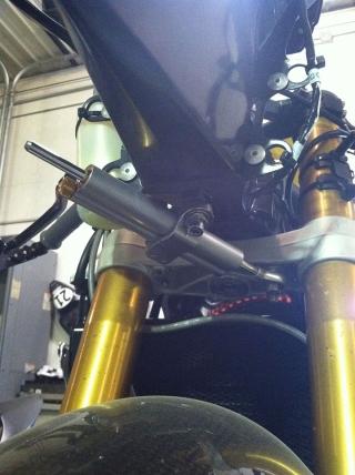 Apex/Ohlins Steering Damper Kit for Triumph Speed Triple 2012-15