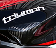 2006-2015 Triumph Daytona 675 Bickle Carbon Fiber Kevlar Tank Slider